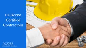 HUB Zone certified contractor