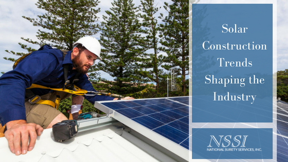 Solar Construction Trends Shaping the Industry