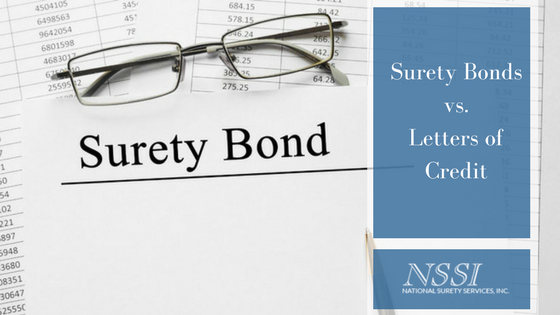 Surety Bonds vs. Letters of Credit