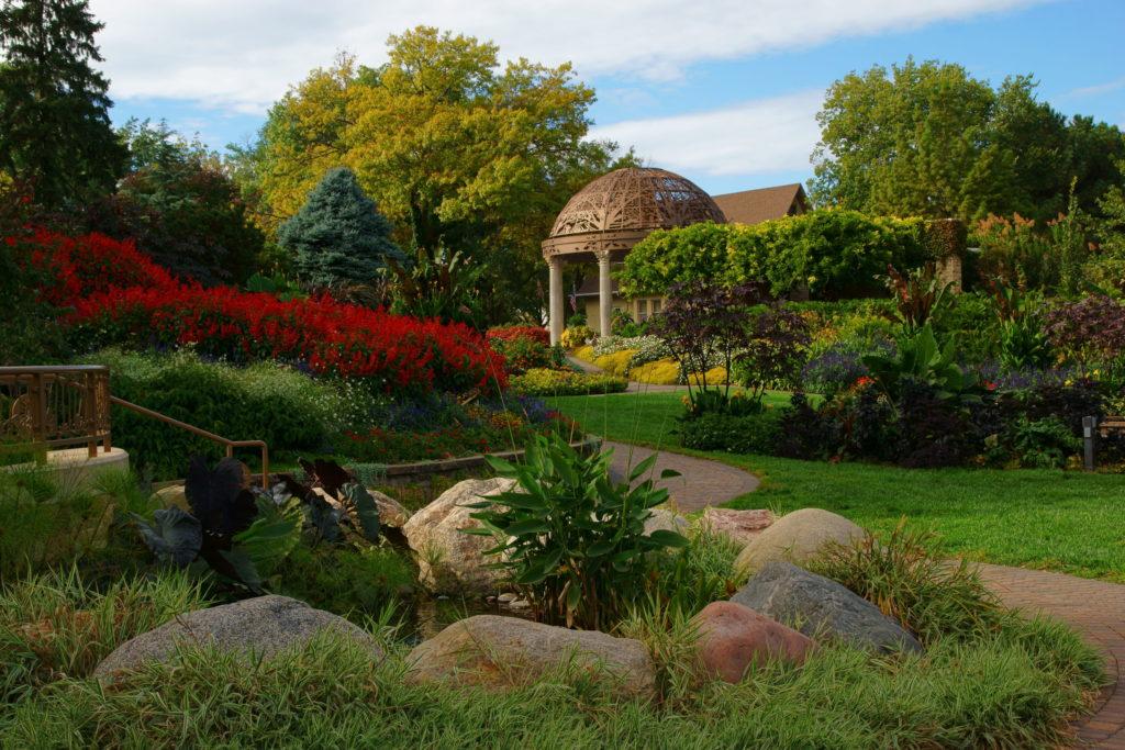 sunken gardens, lincoln, nebraska