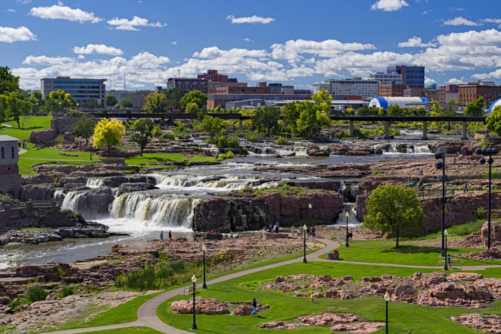 Falls Park - Sioux Falls South Dakota